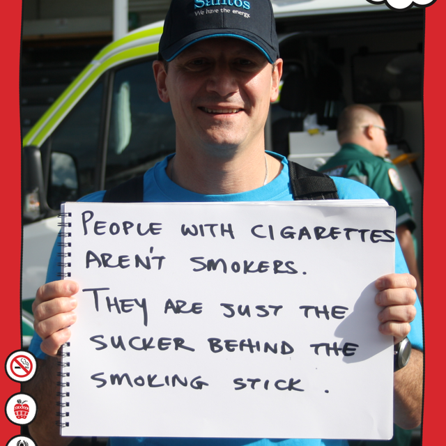 We went to the Power Cup and asked a bunch of our mob what they thought about smoking…here's what they said…