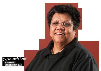 Jessie Matthews / Ngarrindjeri Adnyamathanha Elder