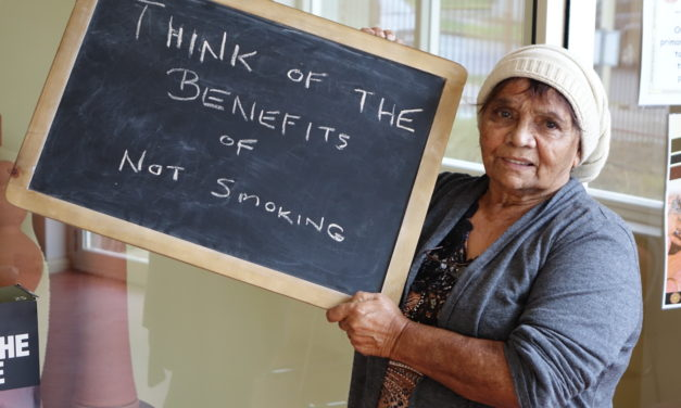 """Think of the benefits after you give up smoking and what you've missed out from by smoking"""