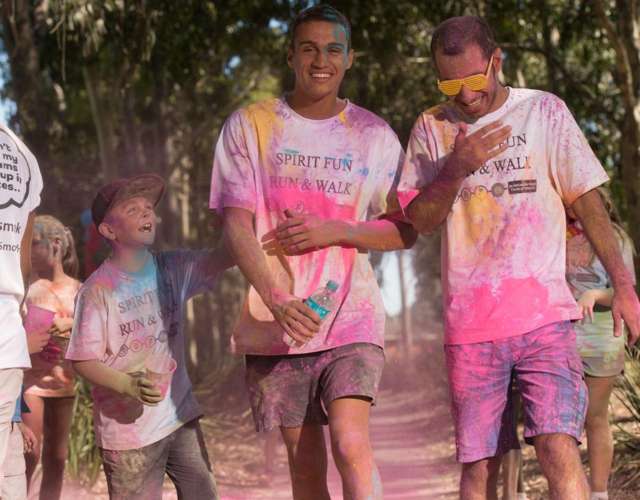 2017 Aboriginal Spirit Colour Fun Run and Walk