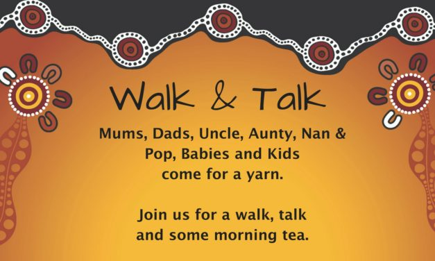 Walk and Talk. Join the Tackling Tobacco team for a yarn!